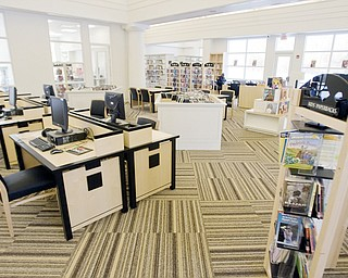 The new 9,000 szuare foot East branch of the Public Library of Youngstown and Mahoning County located at 430 Early Road opened to visitors January 24.