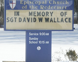 Funeral of USMC Sgt.David W. Wallace