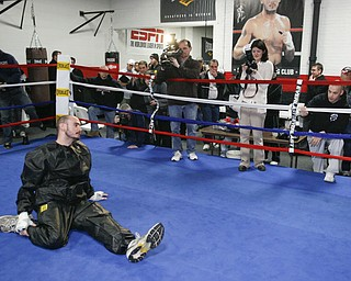 Pavlik Training at Southside Boxing Club, Wednesday February 18, 2009