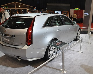 Cadillac CTS wagon at the 2009 Cleveland Auto Show