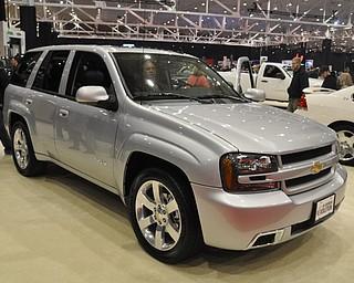 Chevrolet Trailblazer at the 2009 Cleveland Auto Show