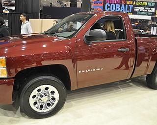Chevrolet Silverado at the 2009 Cleveland Auto Show