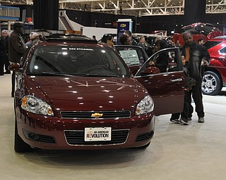 Flex fuel Chevrolet Impala at the 2009 Cleveland Auto Show