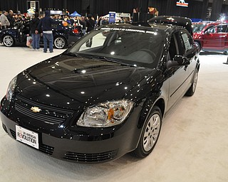 Chevrolet Cobalt at the 2009 Cleveland Auto Show