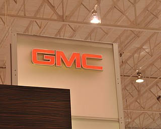GMC display at the 2009 Cleveland Auto Show