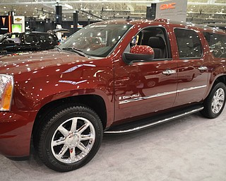 GMC Denali at the 2009 Cleveland Auto Show
