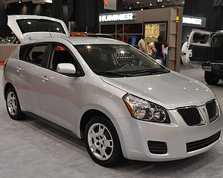 Pontiac Vibe at the 2009 Cleveland Auto Show