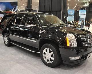 Cadillac Escalade at the 2009 Cleveland Auto Show