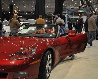 Chevrolet Corvette at the 2009 Cleveland Auto Show