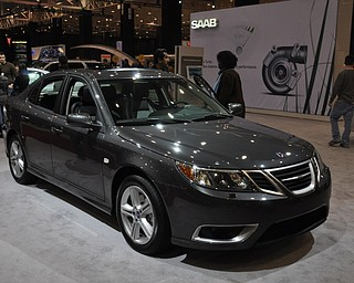 Saab 9-5 at the 2009 Cleveland Auto Show