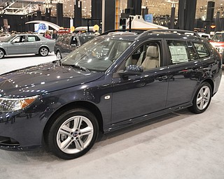 Saab 9-3 at the 2009 Cleveland Auto Show