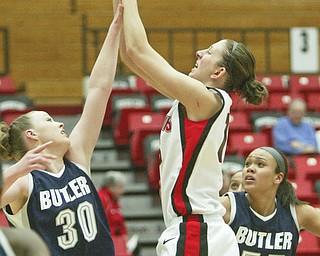 YSU women vs Butler