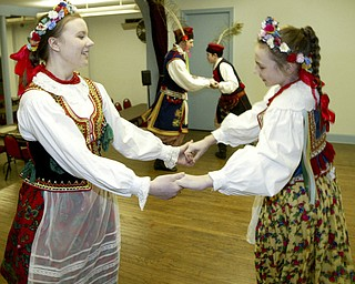 Polish traditional dancers at St. Casimir's.