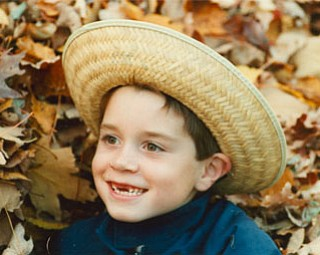 MICHAEL KRIEGER, who was 7 when this picture was taken, is the grandson of Michael J. Lacivita of Youngstown.