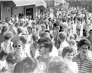 Sept 8, 1984: Last day crowds