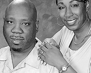 Clifton Hudson and Shonnita Richardson