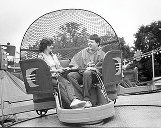 Sept. 3, 1984: Riding the Tilt-a-whirl