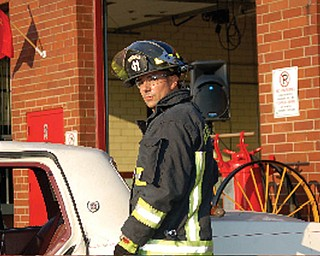 Fireman ANTHONY CARUSO of Mineral Ridge.