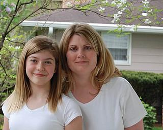 Rachel Sieman, 39, and Gwendolyn Sieman, 10, of Boardman.