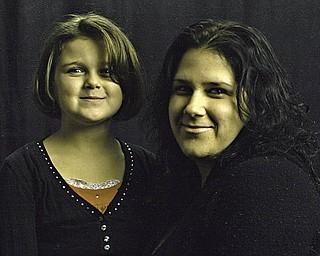 Melissa Kerchak, 33, and Mikaela McKenzie, 8, both of Girard.