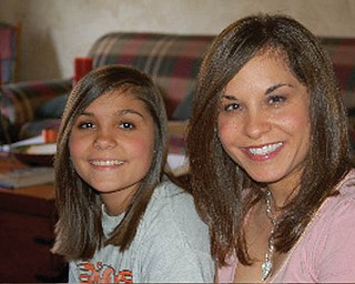 Stephanie Caruso, 32, and Haley Caruso, 13, of Mineral Ridge.