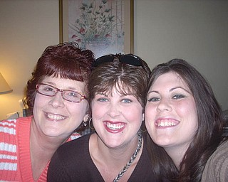 Michele Carvell, 52, of Boardman and her daughters, Nicole Carvell Hagerty, 29, of Boardman and Erin Carvell, 25, of Canfield.