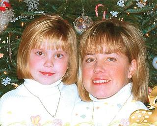 Lori Griffin, 42, and McKenzie Griffin, 11, of Edinburg, Pa.