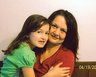 Debbie Pezzenti, 43, and Stacey Pezzenti, 6 1/2, of Youngstown.