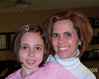 Julie Foutty, 37, and Caroline Foutty, 9, of North Lima.