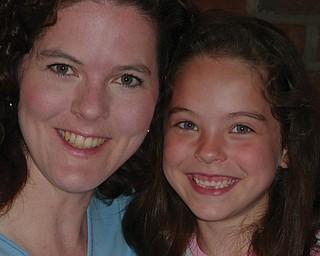 Donna Marscio , 37, and Julia Marscio, 6, of Austintown.