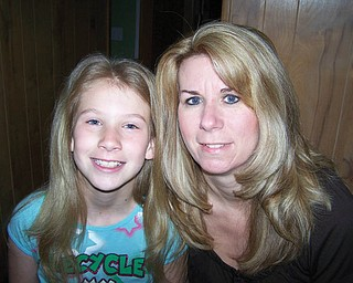 Wendy Pillsbury, 41, and Reanna Bell, 9, of East Palestine.