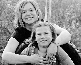 Sheri Porterfield, 36, and Annie Porterfield, 9, of Canfield.