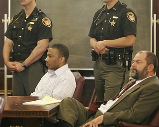 YOUNGSTOWN — A jury today found Curtis Young guilty of all aggravated murder counts, and all firearm and death penalty specifications, in the death of his ex-girlfriend, Helen Moore, 29, of Cassius Street, her nearly full-term unborn child, and her 8-year-old son, Ceonei.