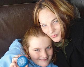 Carly Roman, 26, and Zoë Roman, 11, of Masury.
