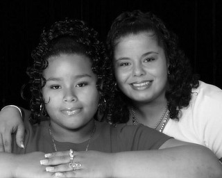 Randi Russell, 36, and Ja'Lyn Russell, 13, of Youngstown.