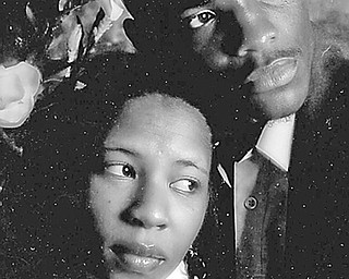 Davina Mims and Rickey Jones Jr.