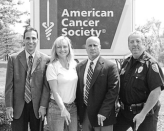 <p>Special to The Vindicator</p> <p>FORE! The Youngstown Police Department's annual golf outing to benefit the American Cancer Society is June 26 at Pine Lakes Golf Club in Hubbard. Organizers of the event are, from left, Fred Losasso, Laura Brown, John Patton and Tony Tulipano. For more information, or an entry form, call (330) 742-8718.</p>