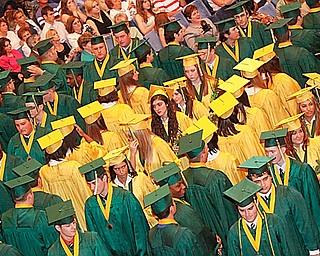 Ursuline High School Class of 2009 Graduation Commencement at Stambaugh Auditorium, Saturday May 30, 2009