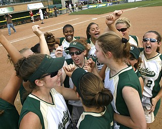 Ursuline defeated Sandy Valley  at Akrons Frireston Stadium in the state Semi Final Game 7-1 - robertkyosay