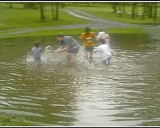 6.17.2009 Flooding in Ellsworth, Ohio. Photo provided to The Vindicator by Joanne Simon.