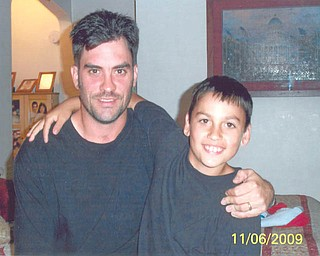 Ryan Sargent, 34 and Tanner, 9, of Struthers.