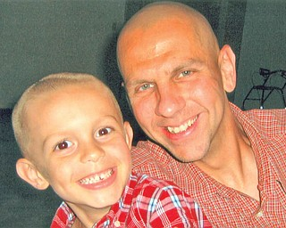 Michael Rothwell, 43, and Alexander, 6, of Canfield.