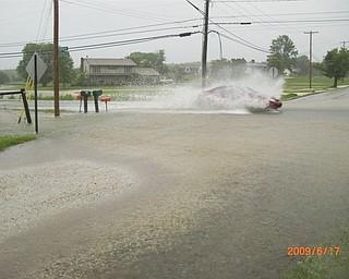 Turner Rd and Herbert Rd. flood over