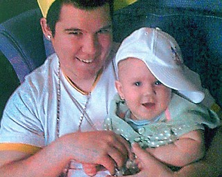Howard R. Hurst Jr. and his daughter, Kaidyn Marie, of Youngstown.