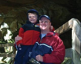 Willi Colbert, 40, and Nicholas, 5, of Austintown.