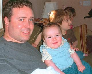 Josh Benson, 34, and Jack, 6 months, of Boardman.