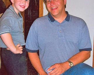 Joe Gonda, 39, an Michael, 7, of Canfield.