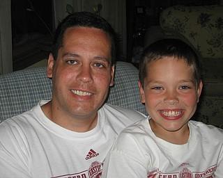 David Vega Sr., 38, and David Jr., 8, of Austintown.