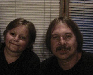 John Yasko, 48, and Evan, 11, of Boardman.