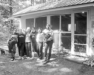 <p>Special to The Vindicator</p> <p>MISSION ACCOMPLISHED: After completing all the requirement in order to receive a Girl Scout Bronze Award, some happy campers enjoy a moment together outdoors at Camp Sugarbush in Kinsman. Satisfied with their accomplishments are, from left, Alexis Hunter, Marisa DeSalvo, Amanda Paynter, Macy Bigley, Miamee Buccella, Toniann Minardi, and Xavier Barrett.</p>